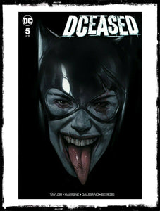DCEASED - #5 BEN OLIVER CATWOMAN VARIANT (2019 - CONDITION NM)