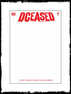 DCEASED - #1 BLANK VARIANT (2019 - CONDITION NM)