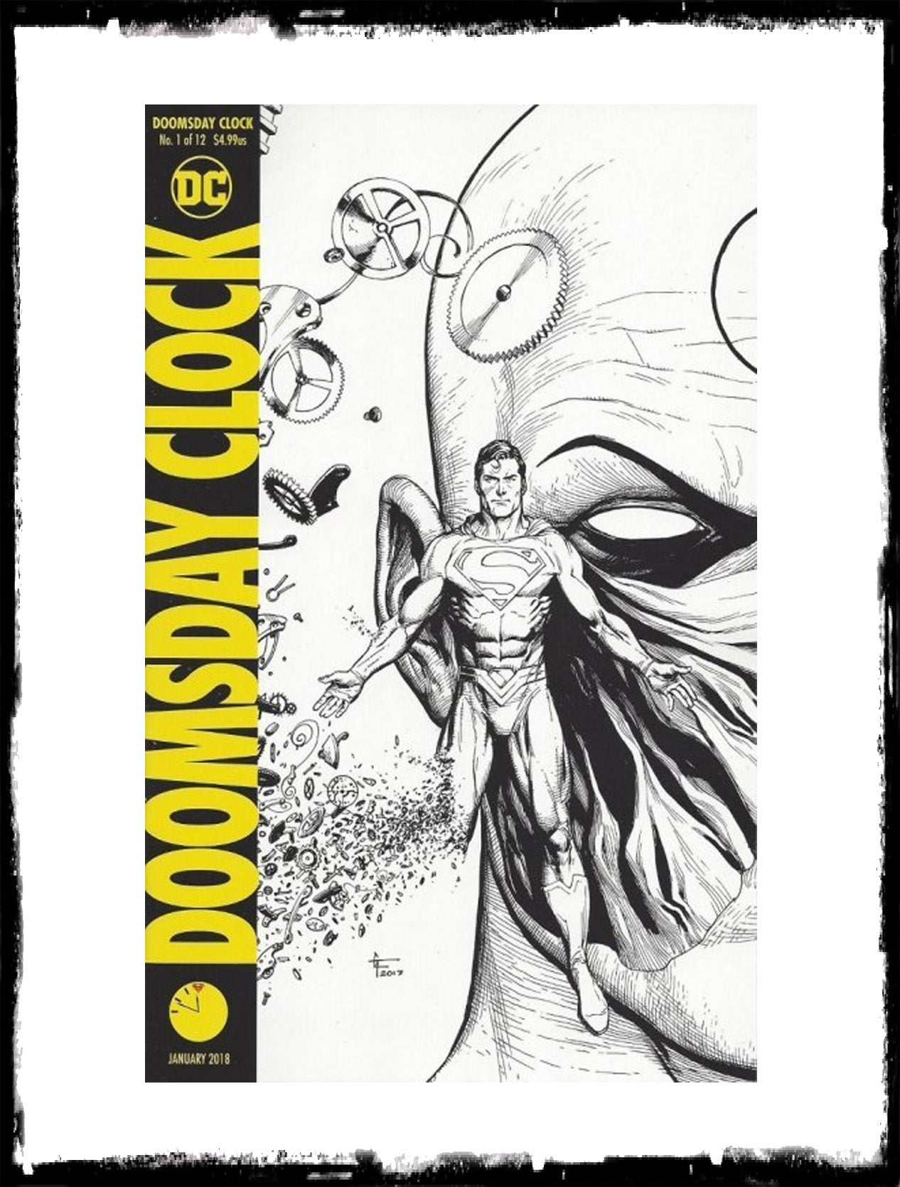 DOOMSDAY CLOCK - #1 GARY FRANK MIDNIGHT VARIANT (2018 - CONDITION NM)