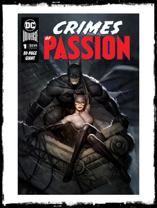 DC CRIMES OF PASSION - #1 RYAN BROWN EXCLUSIVE VARIANT SIGNED BY RYAN BROWN W/ COA (2020 - NM)