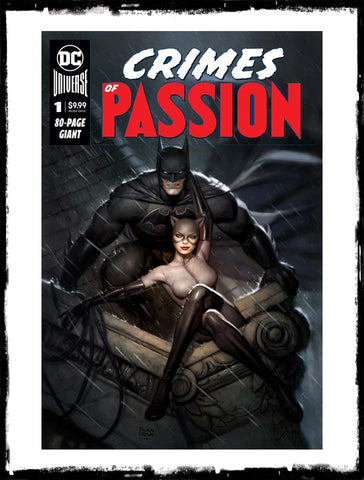 DC CRIMES OF PASSION - #1 RYAN BROWN EXCLUSIVE VARIANT (2020 - NM)