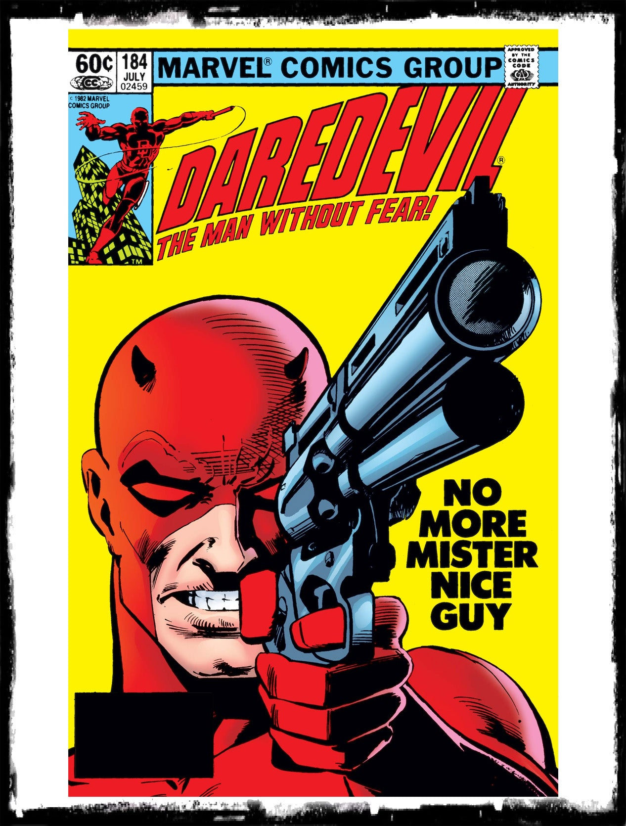 "DAREDEVIL - #184 ""GOOD GUYS WEAR RED"" (1982 - VF+/NM-)"