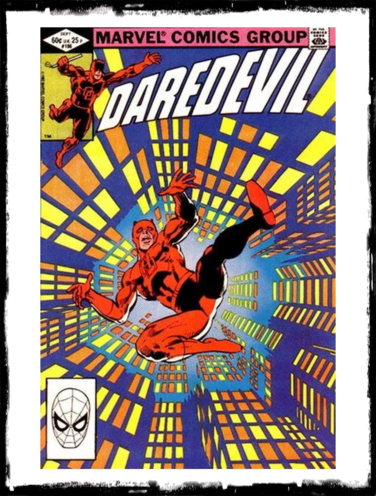 DAREDEVIL - #186 (1982 - VF+)
