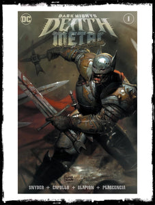 DARK NIGHTS: DEATH METAL - #1 RYAN BROWN VARIANT COVER / LIMITED TO 3000 (2020 - NM)