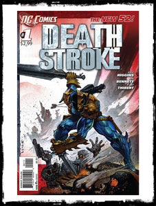 DEATHSTROKE - #1 SIMON BISLEY COVER ART! (2011 - NM)