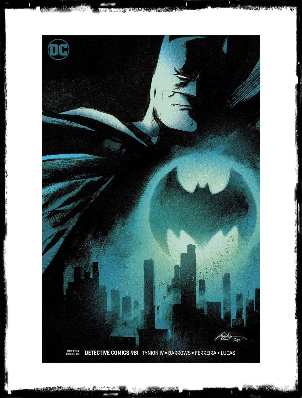 DETECTIVE COMICS - #981 RAFAEL ALBUQUERQUE VARIANT (2018 - CONDITION NM)