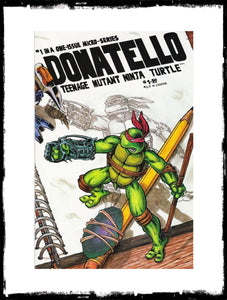 DONATELLO: TEENAGE MUTANT NINJA TURTLE - #1 (1986 - CONDITION VF+/NM)