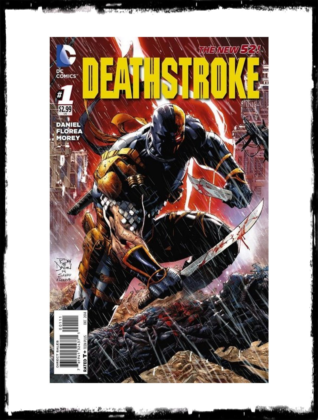 DEATHSTROKE - #1 TONY DANIEL COVER! (2014 - CONDITION NM)