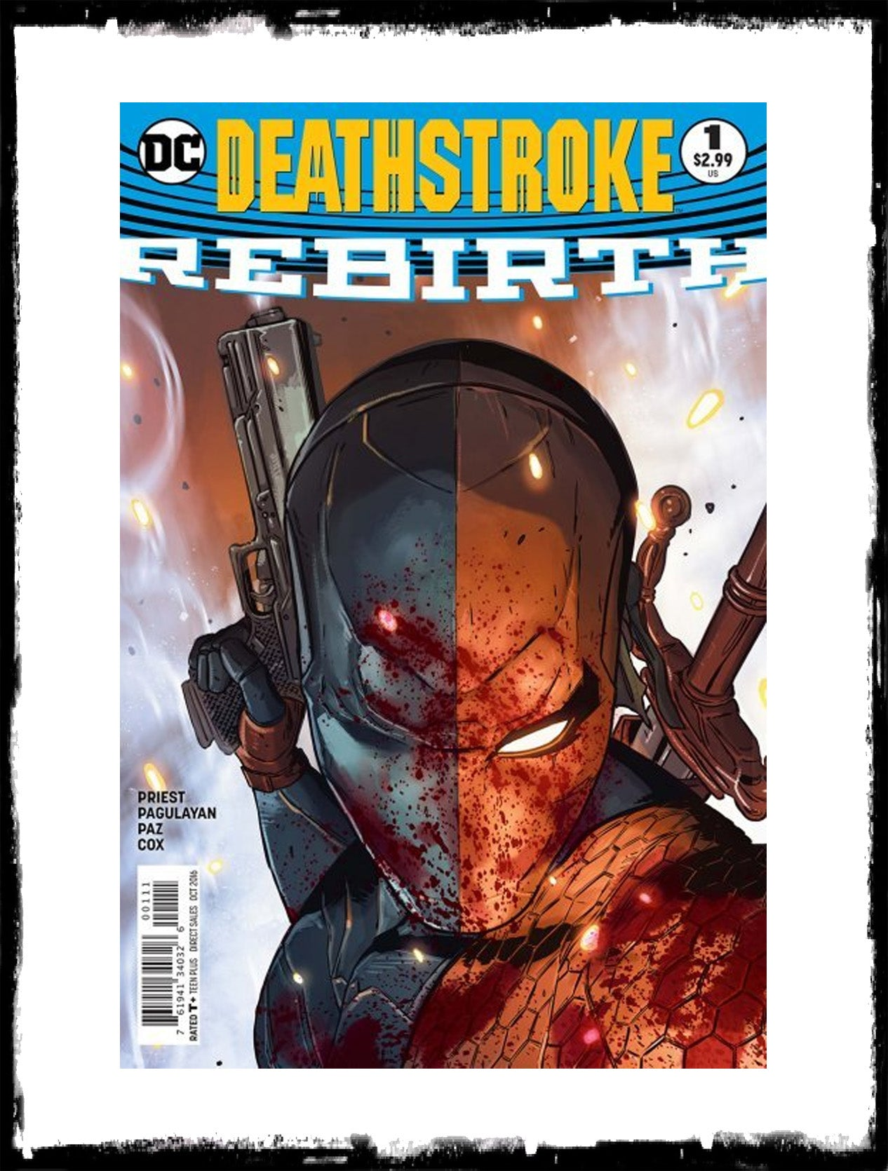 DEATHSTROKE: REBIRTH - #1 (2016 - CONDITION NM)