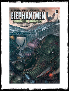 ELEPHANTMEN - VOLUME 1: WOUNDED ANIMALS - TRADE PAPER BACK