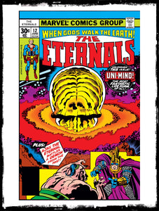 ETERNALS - #12 1ST APP OF THE UNI-MIND (1977 - VF+)