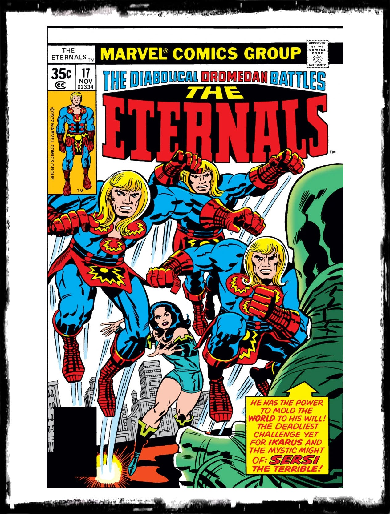 ETERNALS - #17 1ST APP OF SIGMAR (1977 - VF+)