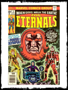 ETERNALS - #5 FIRST APP DOMO, MAKKARI, THENA, ZURAS (1976 - VF+)