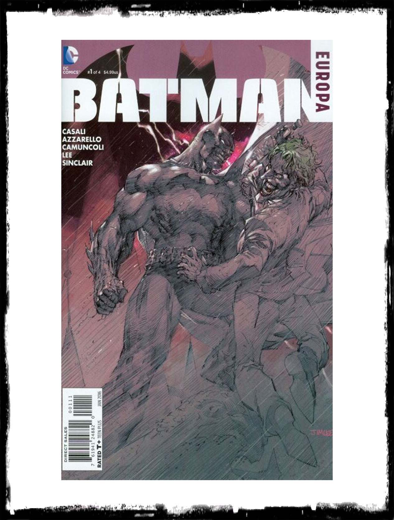 BATMAN: EUROPA - #1 (2016 - CONDITION NM)