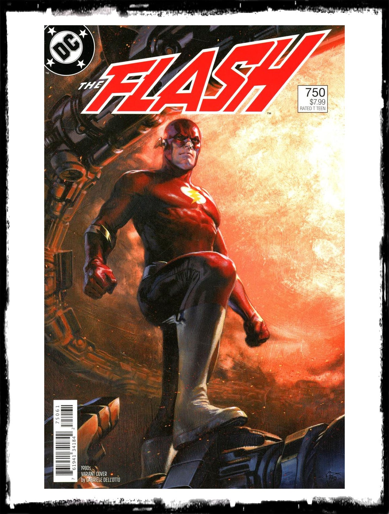 FLASH - #750 GABRIELE DELL'OTTO 1980'S VARIANT (2020 - NM)