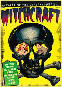 WITCHCRAFT 1952 - GOLDEN AGE TURBO TEE!