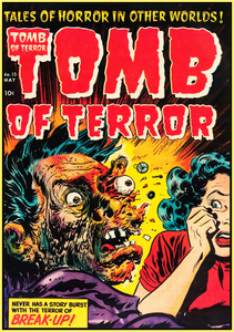 TOMB OF TERROR 1954 - GOLDEN AGE TURBO TEE!