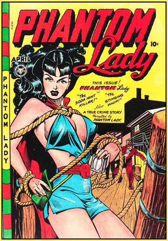 PHANTOM LADY 1948 - GOLDEN AGE TURBO TEE!