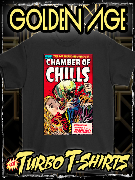 CHAMBER OF CHILLS 1954 - GOLDEN AGE TURBO TEE!