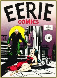 EERIE COMICS 1947 - GOLDEN AGE TURBO TEE!