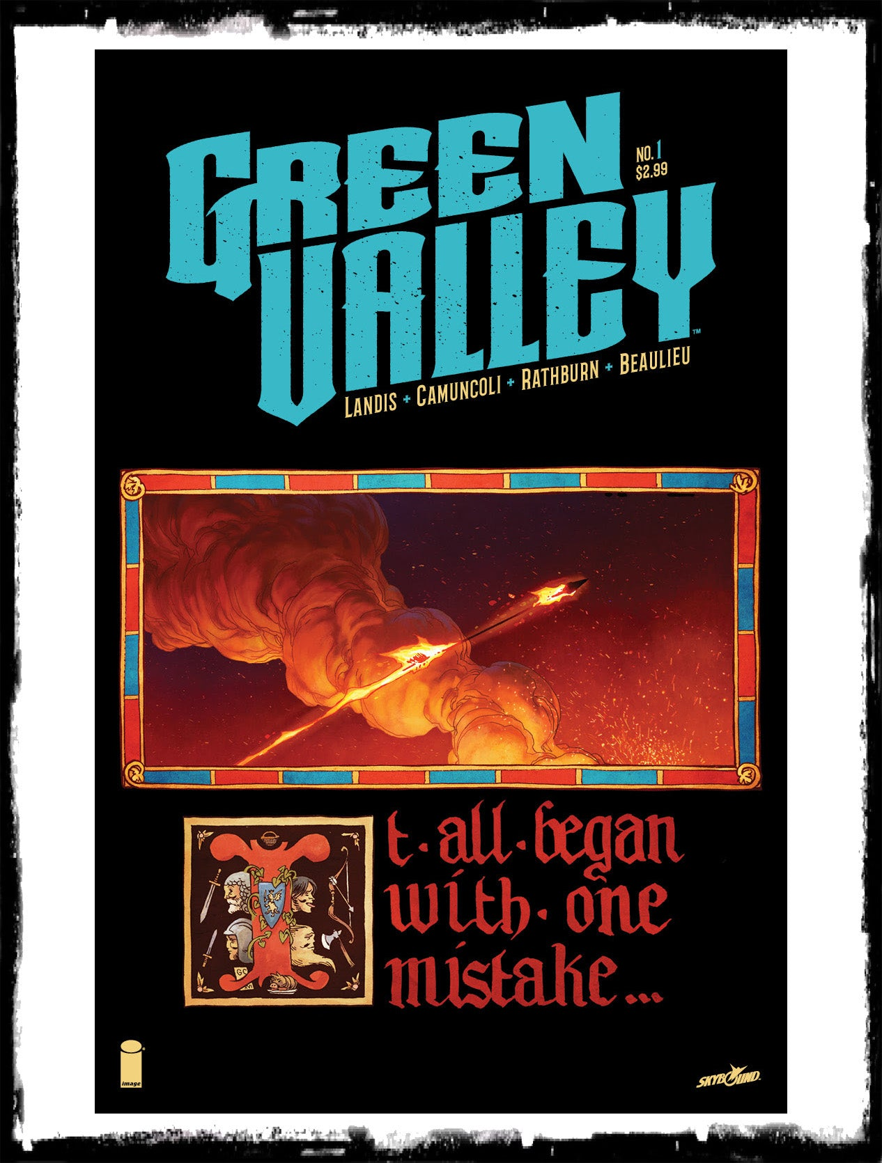 GREEN VALLEY - #1 MAX LANDIS BOOK (2016 - NM)