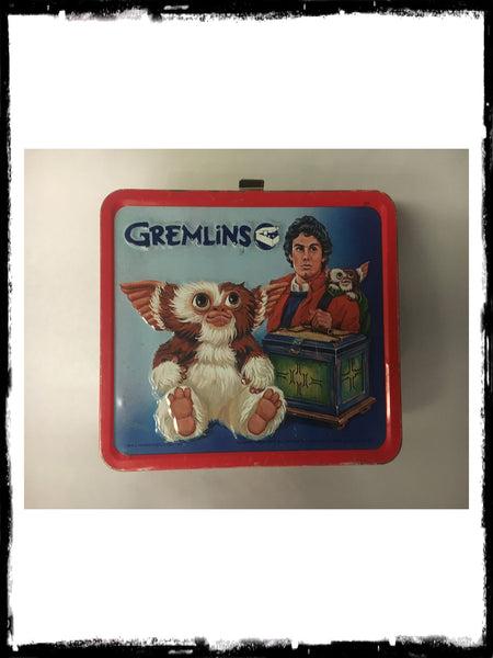 GREMLINS - VINTAGE METAL LUNCH BOX!