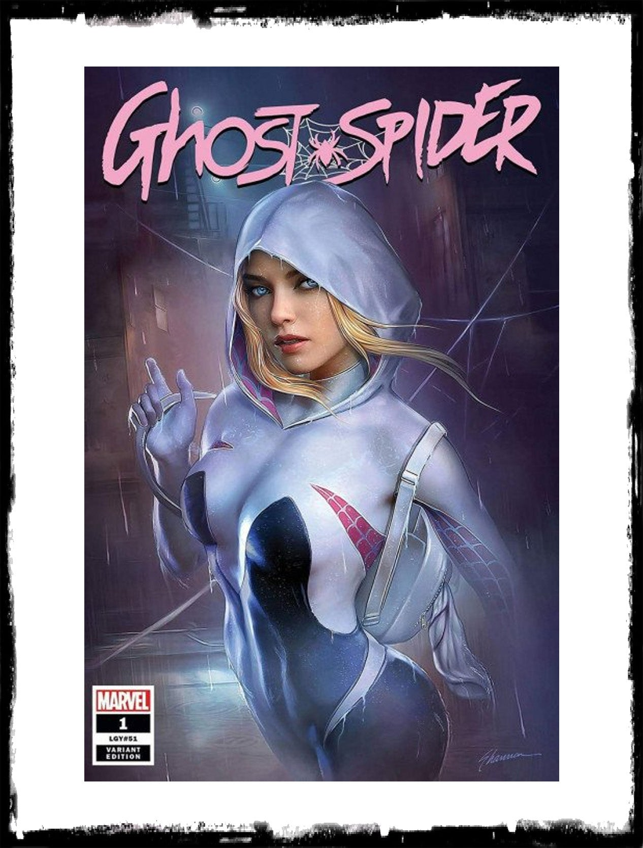 GHOST-SPIDER - #1 SHANNON MAER VARIANT (2019 - NM)