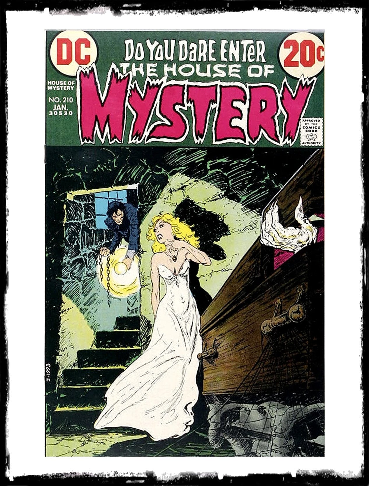 HOUSE OF MYSTERY - #210 CLASSIC DC HORROR! (1973 - VF-)