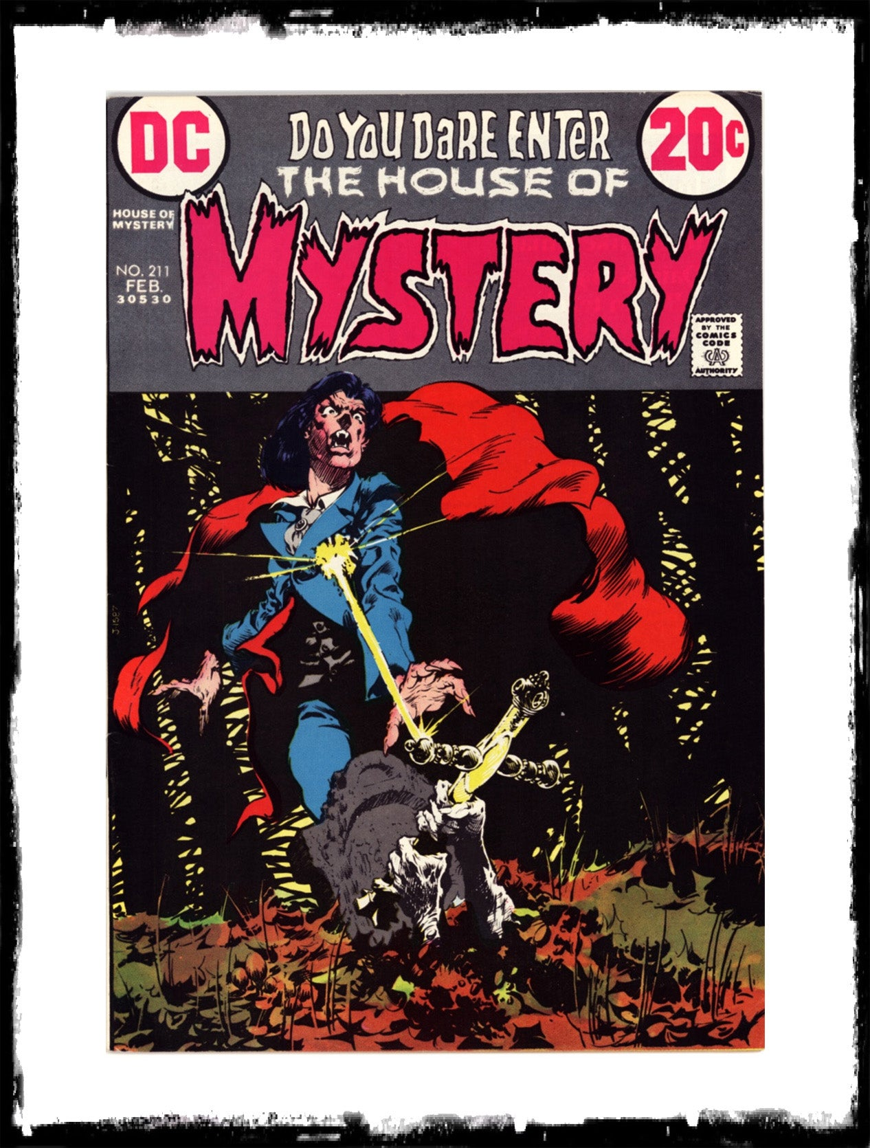 "HOUSE OF MYSTERY - #211 ""DELIVER US FROM EVIL"" (1973 - FN+/VF-)"