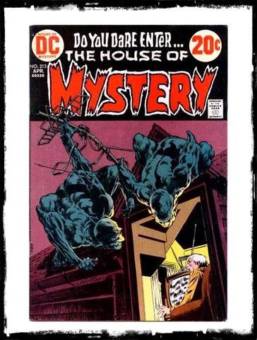 "HOUSE OF MYSTERY - #213 ""BACK FROM THE REALM OF THE DAMNED"" (1973 - FN+/VF-)"