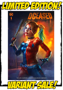 DCEASED - #1 SHANNON MAER VARIANT (2019 - CONDITION NM)