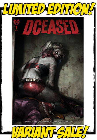 DCEASED - #1 JEEHYUNG LEE VARIANT (2019 - CONDITION NM)