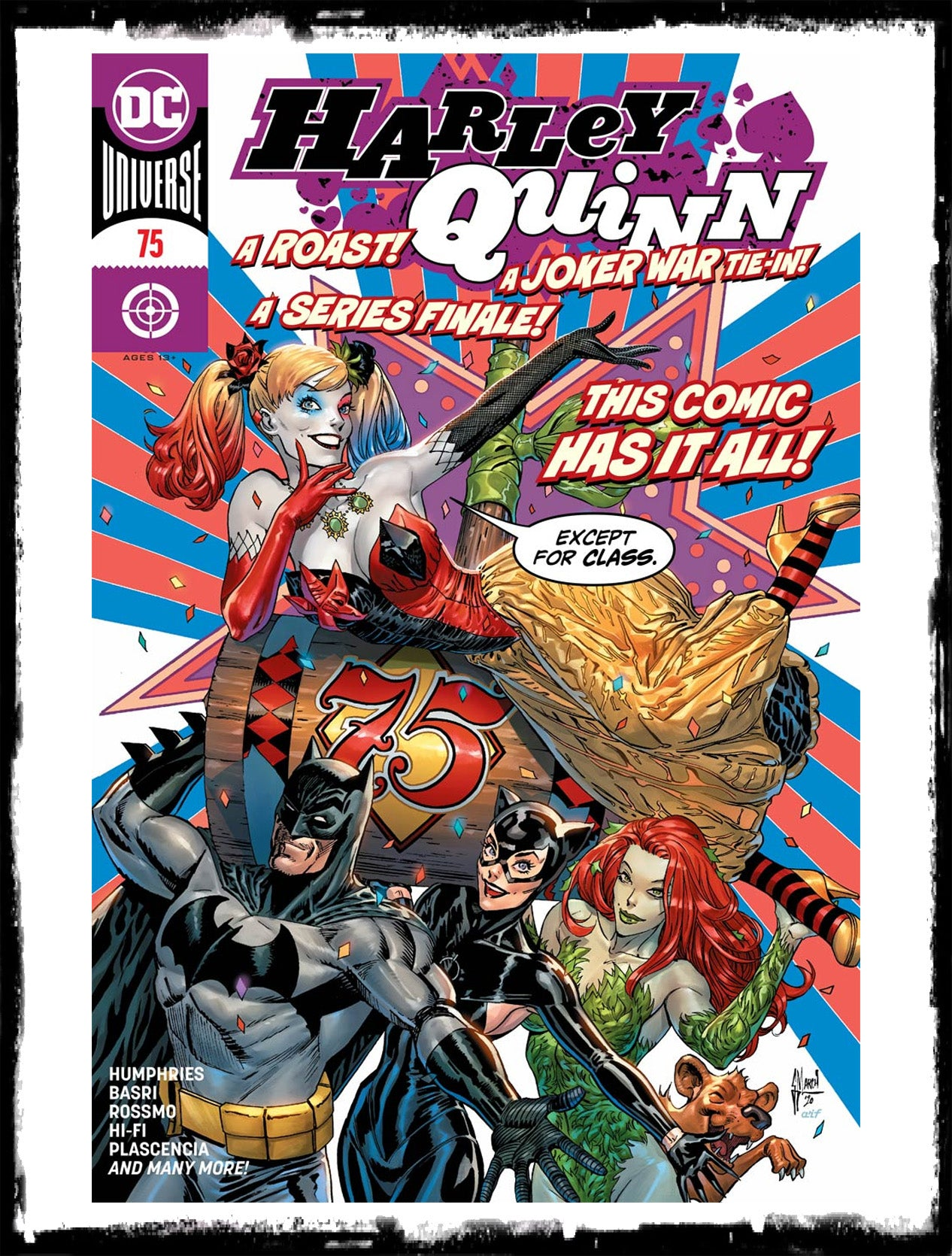 HARLEY QUINN - #75 GUILLEM MARCH COVER (2020 - NM)
