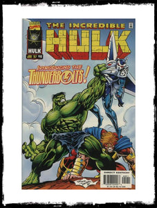 INCREDIBLE HULK - #449 FIRST THUNDERBOLTS (1997 - CONDITION VF+/NM)