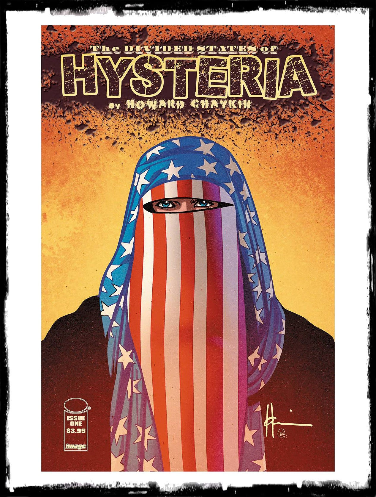 DIVIDED STATES OF HYSTERIA - #1 (2017 - CONDITION NM)