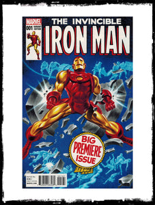 INVINCIBLE IRON MAN - #1 (2015 - BRUCE TIMM VARIANT - CONDITION NM)