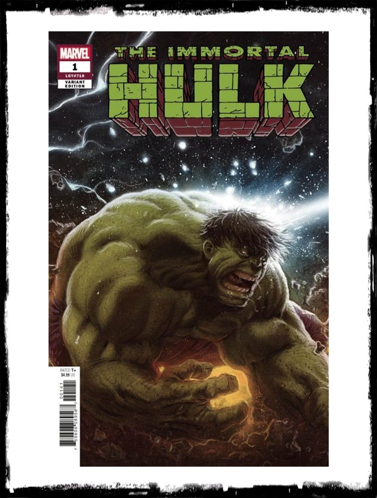 IMMORTAL HULK - #1 KAARE ANDREWS VARIANT (2018 - VF+/NM-)