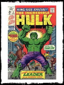 INCREDIBLE HULK KING-SIZE SPECIAL! - #2 (1969 - VG)