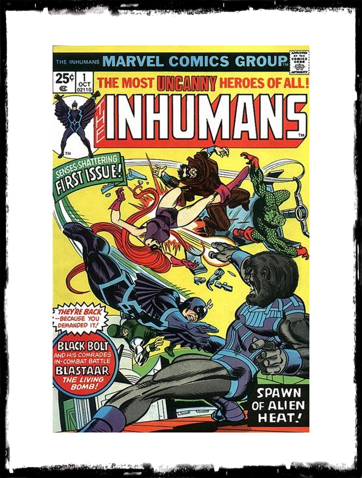 INHUMANS - #1 (1975 - CONDITION NM)