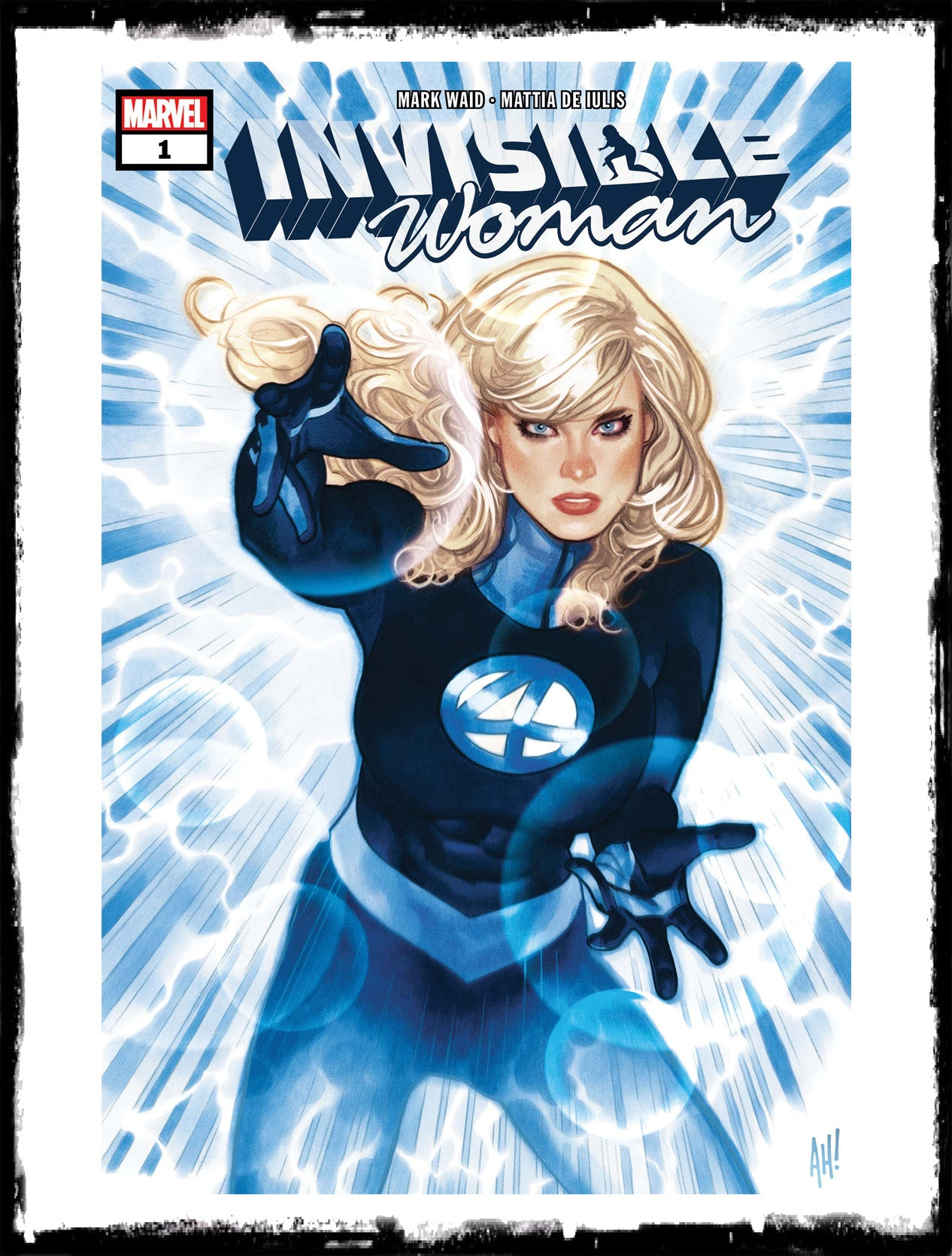 INVISIBLE WOMAN - #1 ADAM HUGHES COVER (2019 - NM)