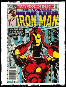 IRON MAN - #170 2ND TIME RHODEY WEARS THE IRON MAN SUIT! (1983 - VF+)