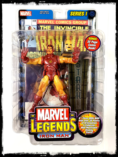 IRON MAN – MARVEL LEGENDS SERIES 1 ACTION FIGURE!