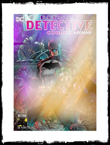 DETECTIVE COMICS - #1000 (Jim Lee WONDERCON Exclusive Foil Variant)!