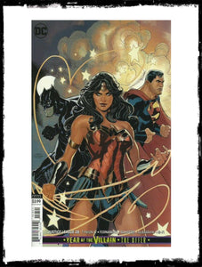 JUSTICE LEAGUE - #28 TERRY DODSON VARIANT (2019 - CONDITION NM)