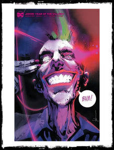 JOKER: YEAR OF THE VILLAIN - #1 JOCK MINIMAL DRESS VARIANT (2019 - NM)