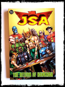 JSA - THE RETURN OF HAWKMAN (Out of Print!)