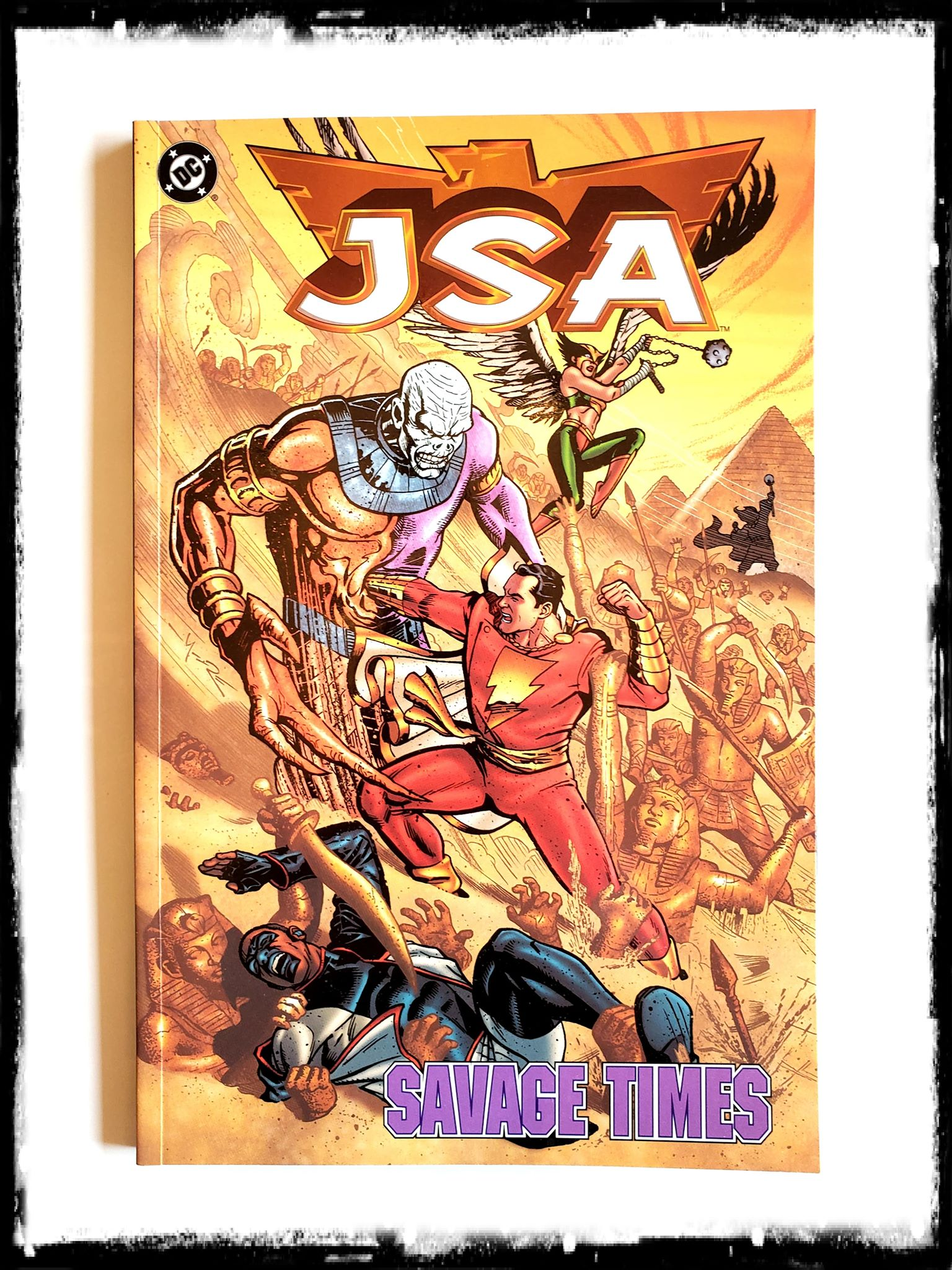 JSA - SAVAGE TIMES (Out of Print!)