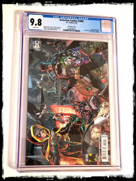 DETECTIVE COMICS #1000 JIM LEE MIDNIGHT RELEASE VERTICAL VARIANT (GRADED CGC 9.8)
