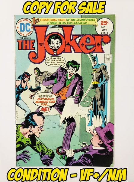 JOKER - #1 (1975 - CONDITION VF+/NM)