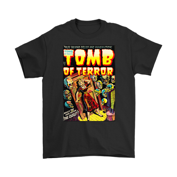 TOMB OF TERROR 1953 - GOLDEN AGE TURBO TEE!